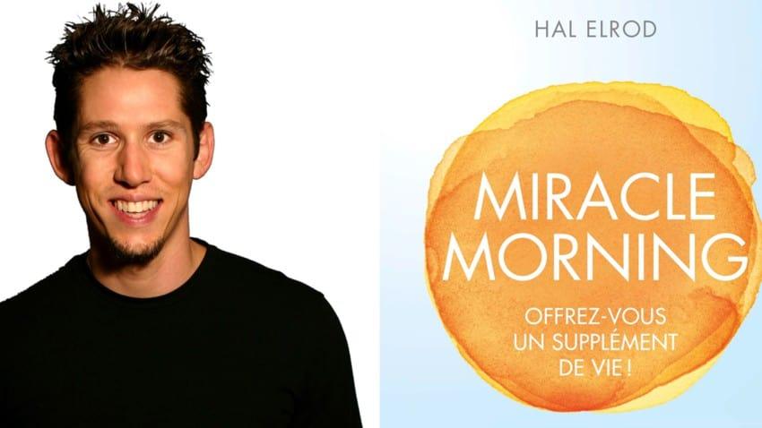 """Hal Elrod, auteur du livre """"Miracle Morning"""""""