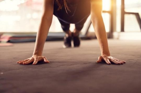 2ième étape de la routine - l'exercice physique