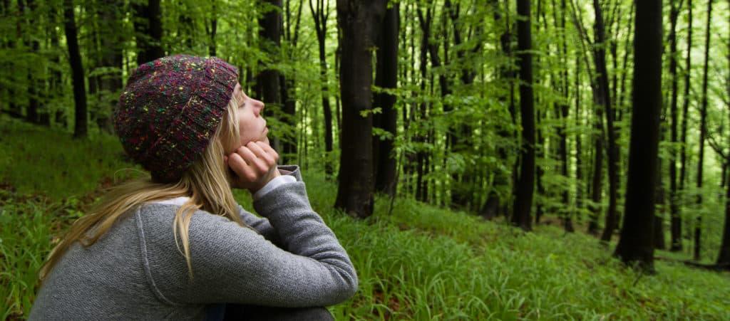 Un bain de forêt pour se décharger et se recharger (image Flyparade/Psychologie)