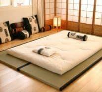 Les futons japonais (image Google)