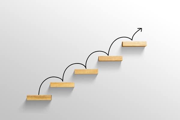 L'art de la progression pour atteindre ses objectifs (image Getty Images)