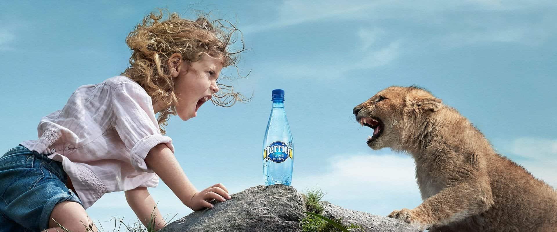 Hydratez-vous en conséquence (image Perrier)
