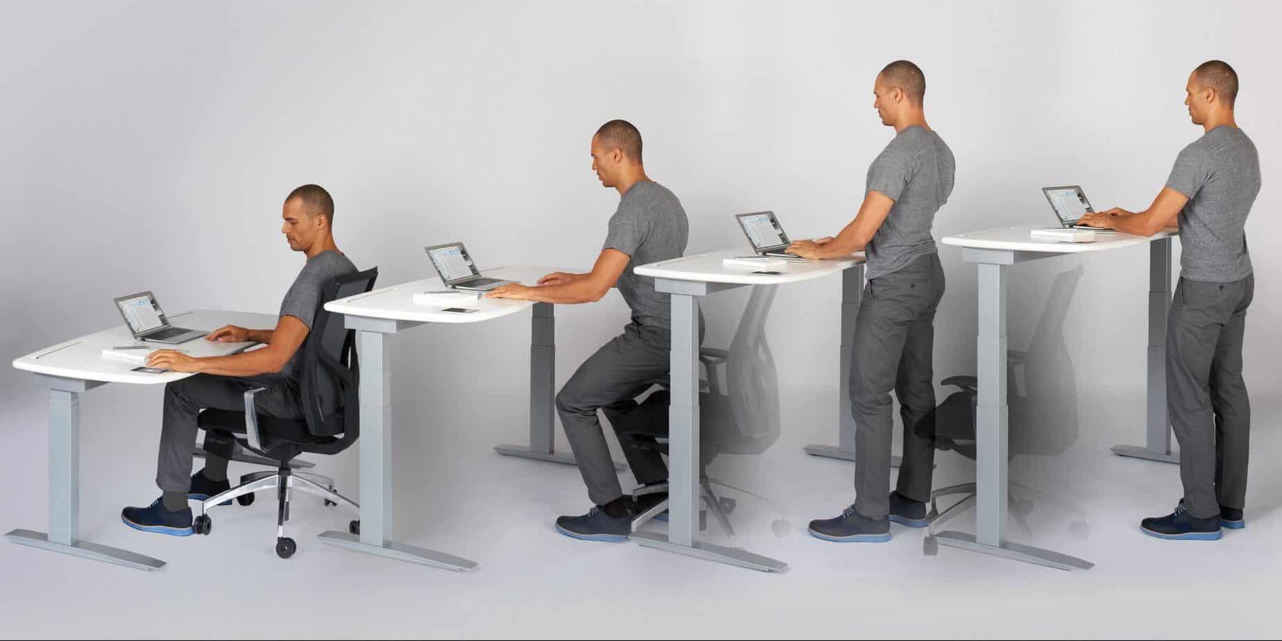 Bureau réglable : une solution intéressante (image Adopte Un Bureau)