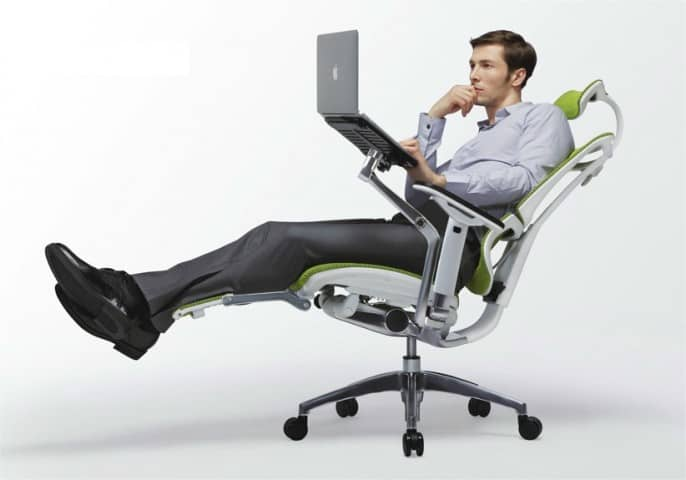 Un fauteuil ergonomique, oui, mais pas n'importe lequel (image Mr Bureau)